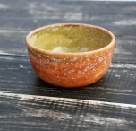 Керамическая глиняная тарелка ручной работы