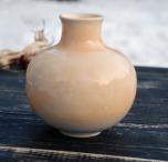 Керамическая глиняная ваза ручной работы